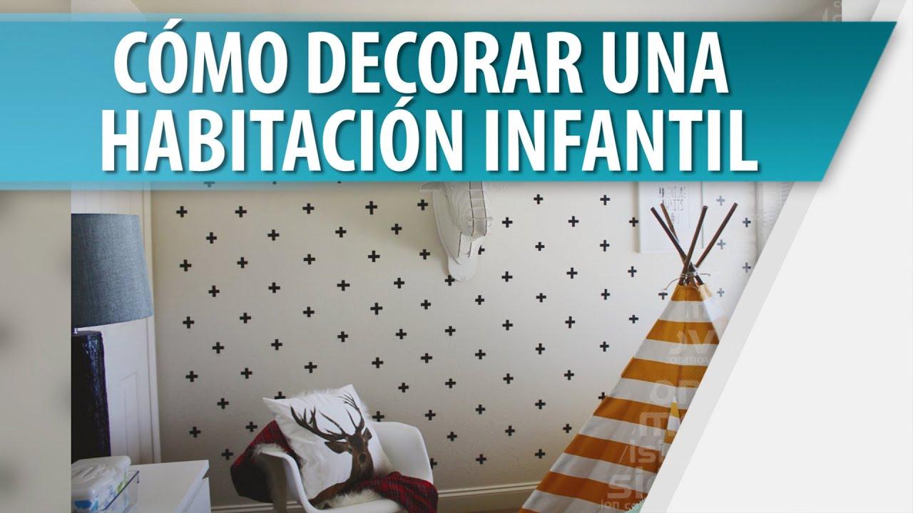 C mo decorar las paredes en las habitaciones infantiles - Como decorar paredes ...