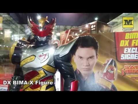 SATRIA HEROES New Toys ! (Bima-X) Jakarta Toys & Comic Fair 2017