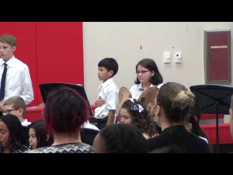 Shughart Middle School Fall Concert 2016 - Star Spangled Banner