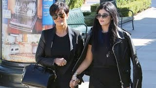 Kylie Jenner Stunning In All Black, Shops With Mom In Calabasas [2013]