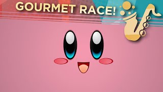 "Gourmet Race (From ""Kirby"") Soprano, Alto, and Baritone Saxophone Game Cover"