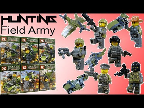 Lego SWAT - Hunting Field Army Military - Knockoff Minifigures by YL