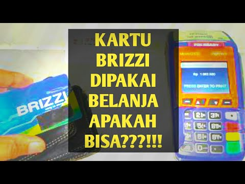 Cara Berbelanja Dengan Kartu Brizzi Di Toko/Agen Brilink