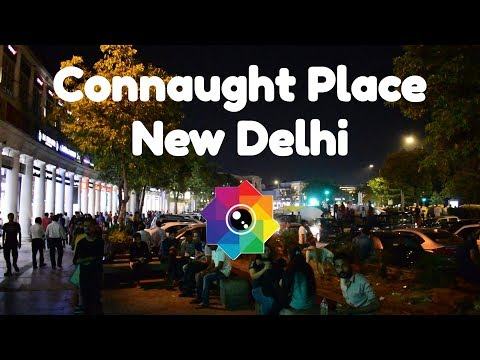 Connaught Place Market, CP Delhi, India