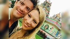 Viktoria und Philipp in den Flitterwochen