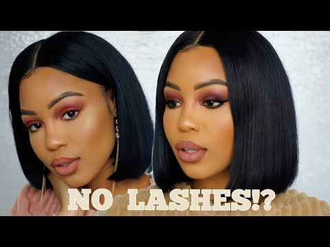 DAY TO NIGHT LOOK USING SAME MAKEUP | NO LASHES