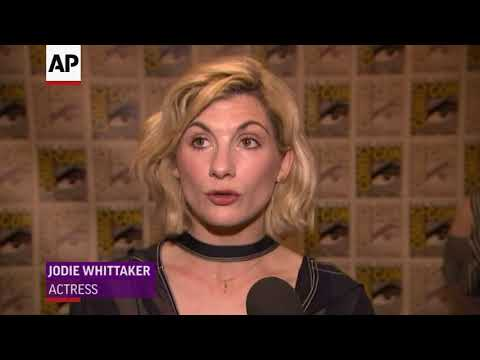 Jodie Whittaker hits ComicCon as