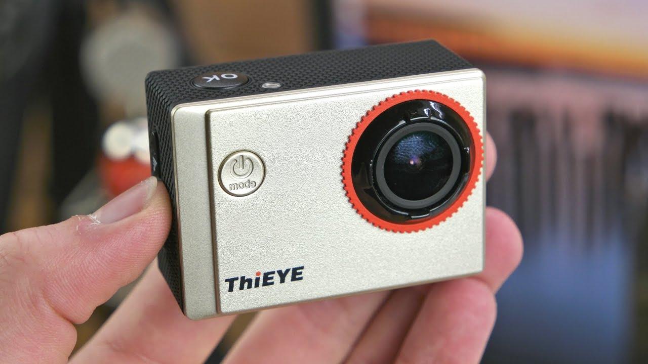 eine g nstige action cam thieye i60 unboxing und erster. Black Bedroom Furniture Sets. Home Design Ideas