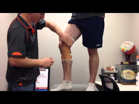 Knee MCL Taping