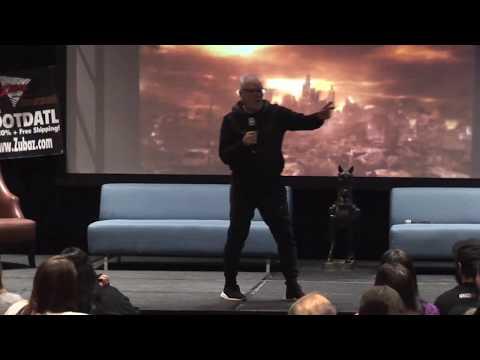 Malcolm McDowell panel Days of the Dead Atlanta February 3, 2018