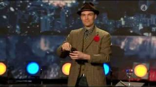 Charlie Caper i Talang 2009 (Sweden's got Talent) Subtitles. 1st round.