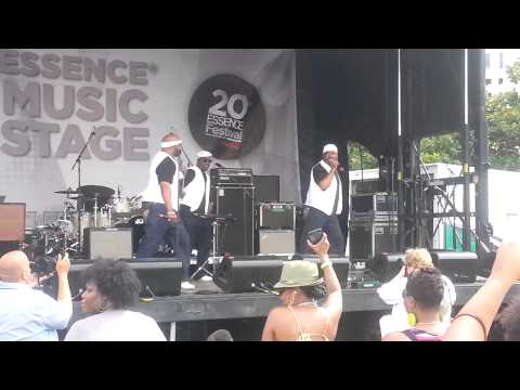 Full Force performing Ain't My Type Of Hype