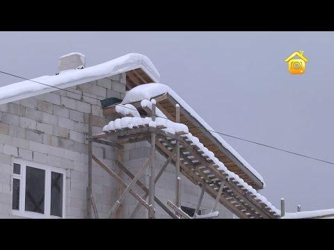 видео: Дом из газобетона своими руками и без лишних затрат. Продолжение // forumhouse