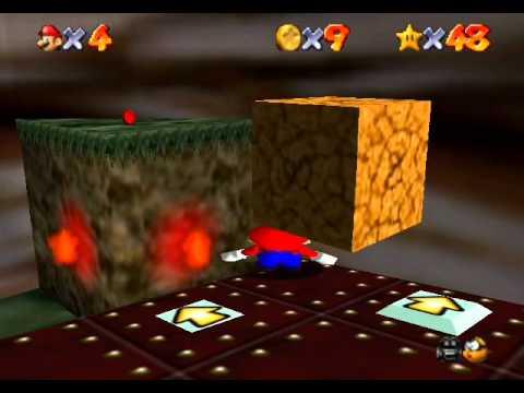 Mario 64 nivel 6 estrellas 1, 2 y 3