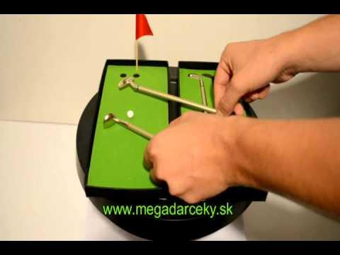 Golfové perá De Luxe :: Megadarceky.sk