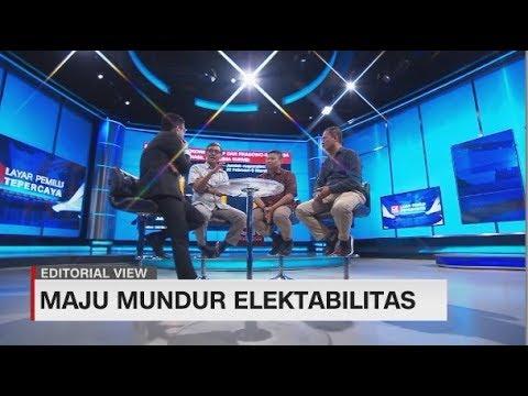 Editorial View: Maju Mundur Elektabilitas Jokowi - Prabowo