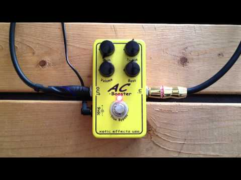 5 Minutes with the Xotic Effects AC Booster - Pedal Demo
