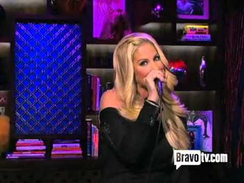 Kim Zolciak - Google Me (Live On Watch What Happens Live) HQ