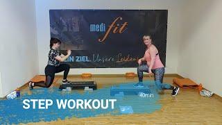 Step Workout - Training für zu Hause - 40min - medifit Wolfhagen