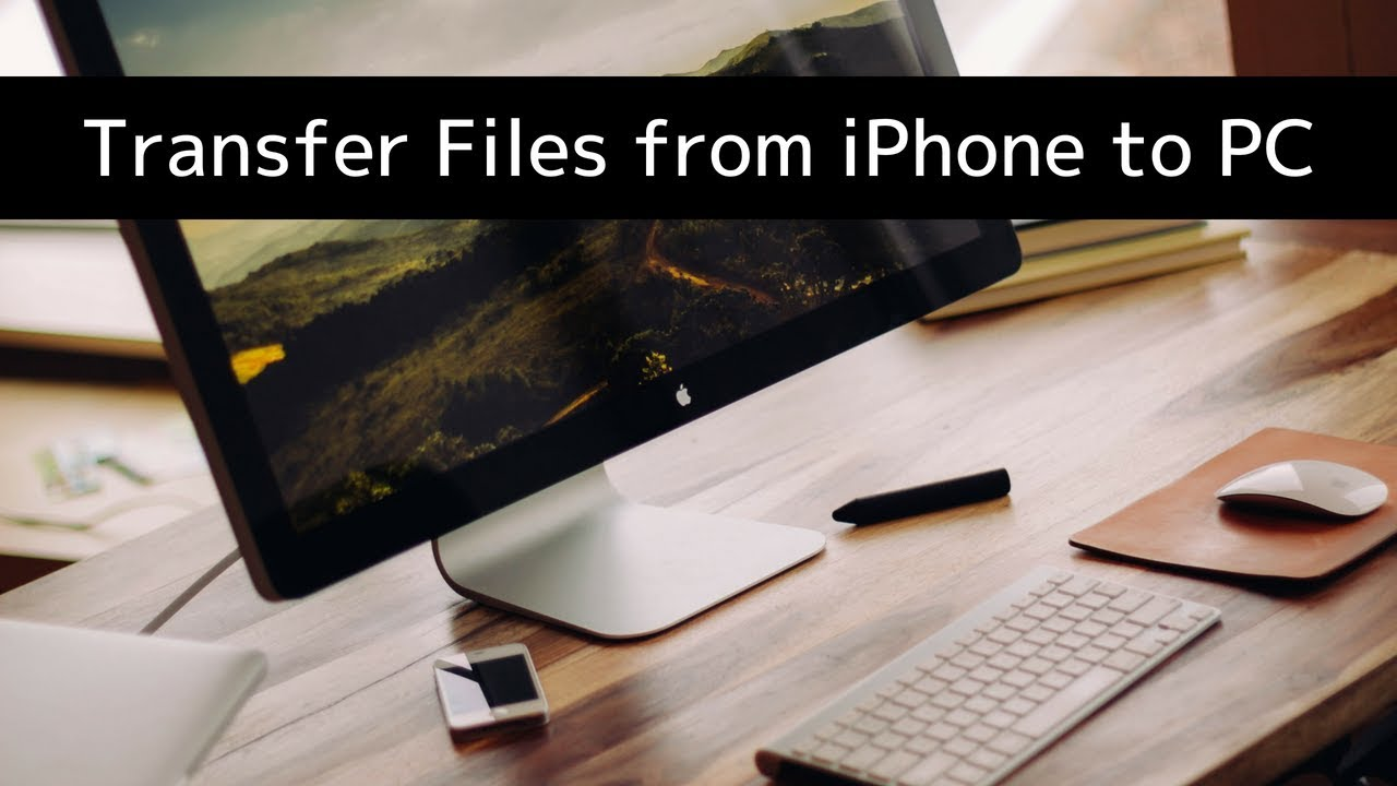 Transfer files and folders to an iPhone or iPad App from a