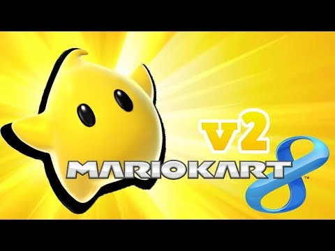 (MK8) Luma in Mario kart 8 V2! 6 skins + custom voice!