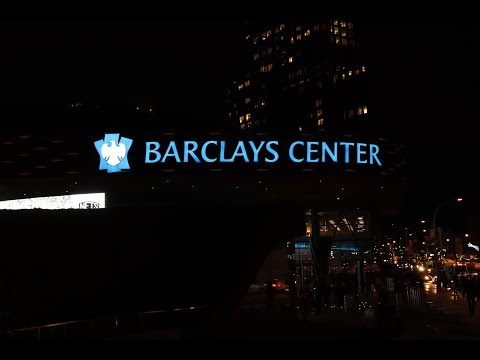 Barclays Center - Brooklyn Nets - 2017【4K】