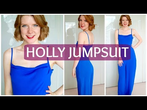 Sew & Tell: By Hand London Holly Jumpsuit