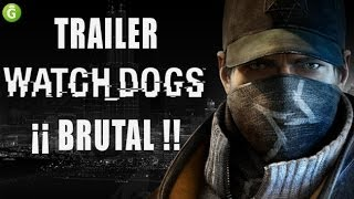 Brutal trailer de Whatch Dogs mostrado en Madrid Games Week