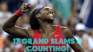All *17* of Serena Williams Grand Slams Winning Moments;Very Emotional!