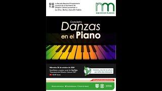 """Concierto """"Danzas en el Piano"""""""