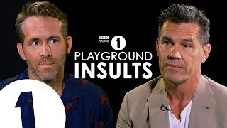 ryan reynolds and josh brolin insult each other   contains strong language