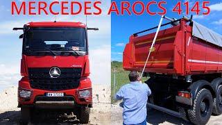 Mercedes-Benz Arocs 4145 po ostatniej modernizacji