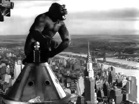 KING KONG (1933) ending scene