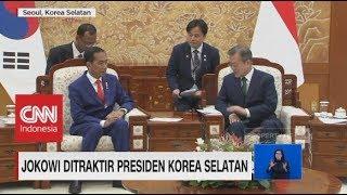 Jokowi Ditraktir Presiden Korea Selatan