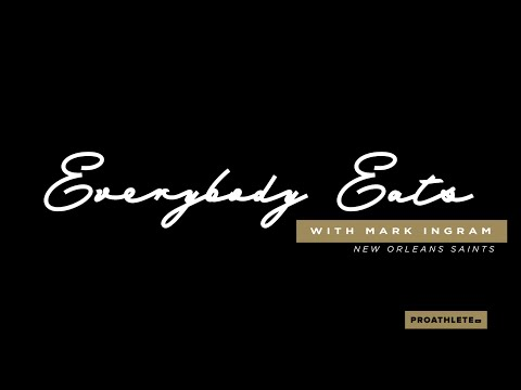 Mark Ingram Learns to Make Famous Po-Boys, Calls Out QB Drew Brees | EVERYBODY EATS --- Domilise