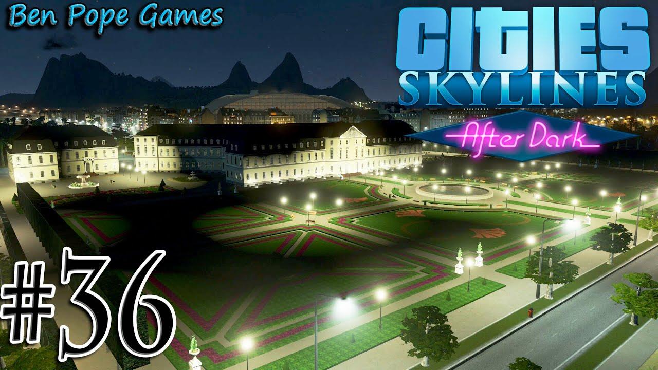 Cities Skylines - Dark #36 Baroque Castle