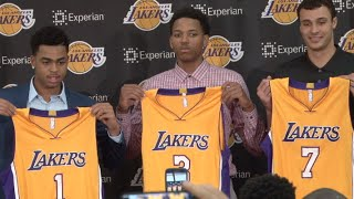 Lakers introduce new draft picks