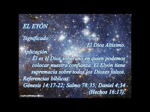 Nombres de Jehova.