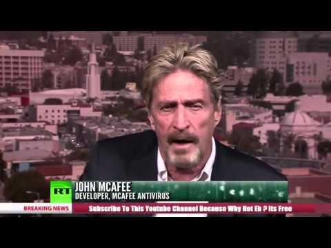 John McAfee (Libertarian Candidate) On Bitcoin And The Economy
