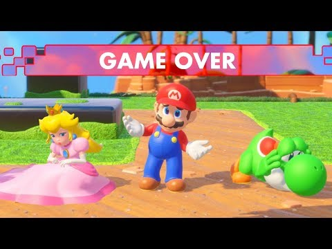 Mario + Rabbids Kingdom Battle - All Game Over Screens