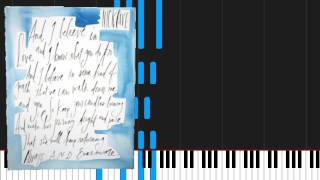 Скачать How To Play Into My Arms By Nick Cave The Bad Seeds On Piano Sheet Music