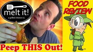 Melt It! | The Cheesiest Mac N' Cheese With Pulled Pork Review! Peep This Out!