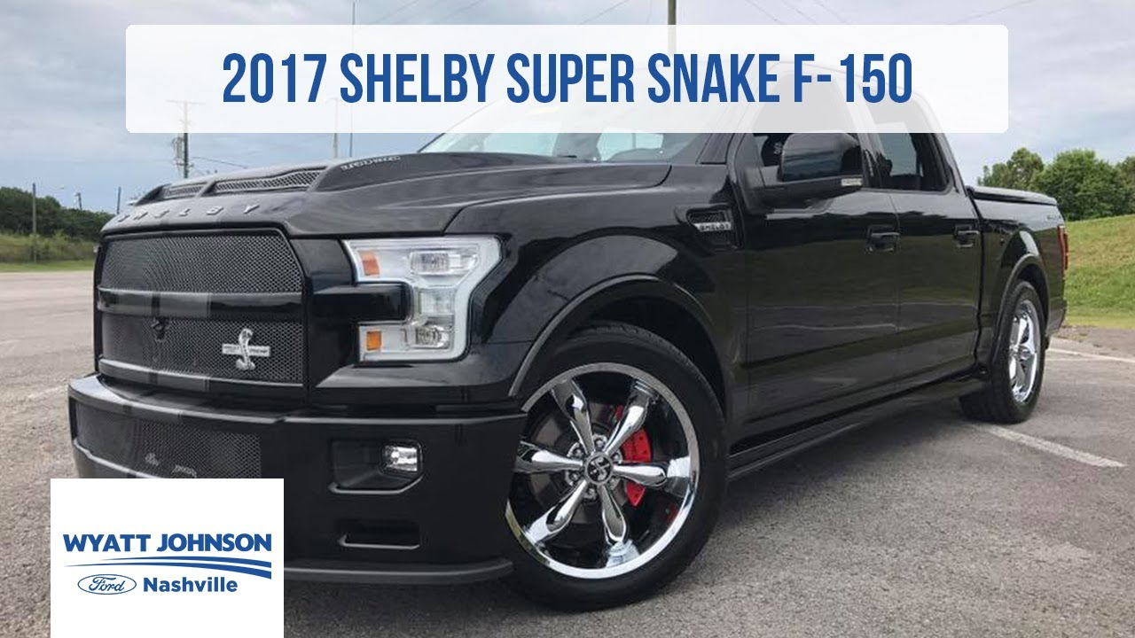 Custom 2018 F 150 >> 2017 Shelby Super Snake F-150 | 750hp SUPERCHARGED | For Sale - YouTube