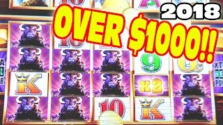 OVER $1000!!!  ★  HUGE WIN KICKS OFF THE NEW YEAR 2018