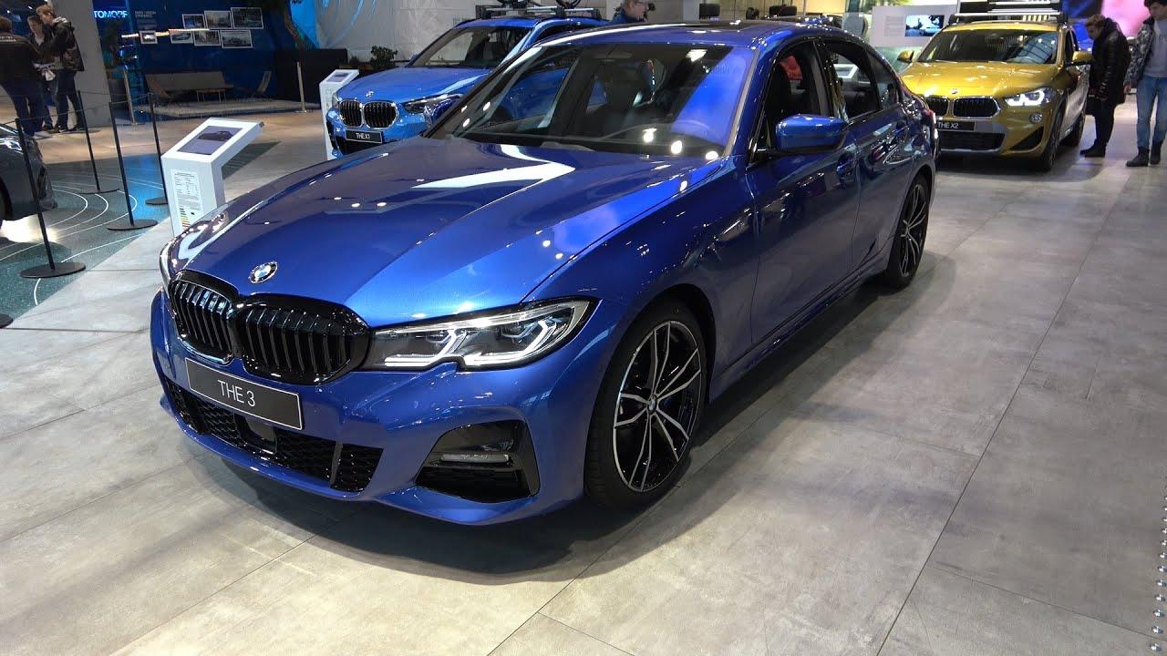 Portimao Blue BMW 320d xDrive M Sport G20 - 4K POV Interior Exterior