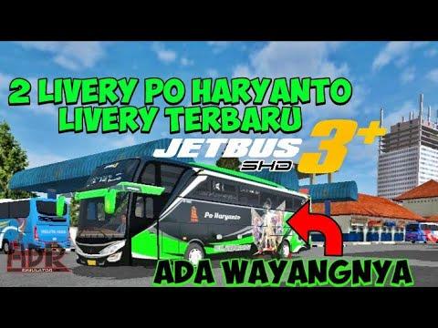 Bussid 2 Livery Po Haryanto Jetbus 3 Shd Bagibagiliverybussid