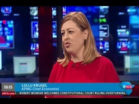 Lullu Krugel speaks on South Africa's economy avoiding recession