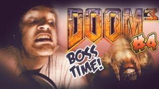 EPIC BOSS FAIL! - Doom 3 - Let's Play - Part 4