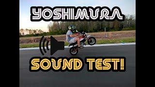 2019 Honda Monkey ULTIMATE Yoshimura Sound Test!