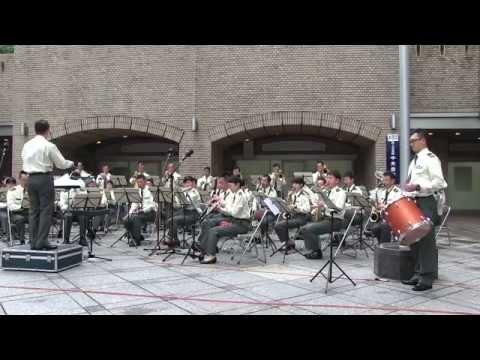 陸上自衛隊 中央音楽隊 水曜コンサート【ノーカット】 Japan Ground Self-Defense Force Music Band Playing.